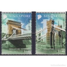 Sellos: SG2498 SINGAPORE 2020 MNH BRIDGES - JOINT ISSUE WITH HUNGARY. Lote 287530053