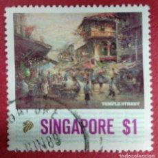 Selos: SINGAPORE. TEMPLE STREET. Lote 289513038