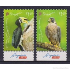 Sellos: SG2444 SINGAPORE 2019 MNH BIRDS - JOINT ISSUE WITH POLAND. Lote 293404048