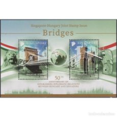 Sellos: SG2498-2 SINGAPORE 2020 MNH BRIDGES - JOINT ISSUE WITH HUNGARY. Lote 293412278