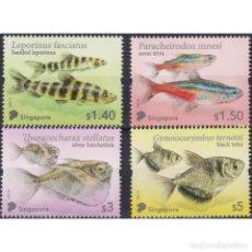 Sellos: SG2518 SINGAPORE 2021 MNH MARINE LIFE - TETRA FISH. Lote 293413143