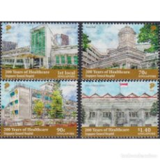 Sellos: SG2558 SINGAPORE 2021 MNH THE 200TH ANNIVERSARY OF HEALTHCARE - SINGAPORE GENERAL HOSPITAL. Lote 293413383