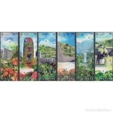 Sellos: SG2544 SINGAPORE 2021 MNH SKYRISE GREENERY. Lote 293413388