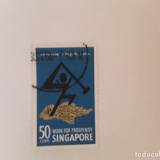 Selos: SINGAPUR SELLO USADO. Lote 295305608