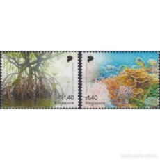 Sellos: ⚡ DISCOUNT SINGAPORE 2021 THE 50TH ANNIVERSARY OF DIPLOMATIC RELATIONS WITH SRI LANKA MNH -. Lote 295970858