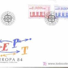 Briefmarken - SUECIA SPD TEMA EUROPA 1984 PUENTES - 3144682