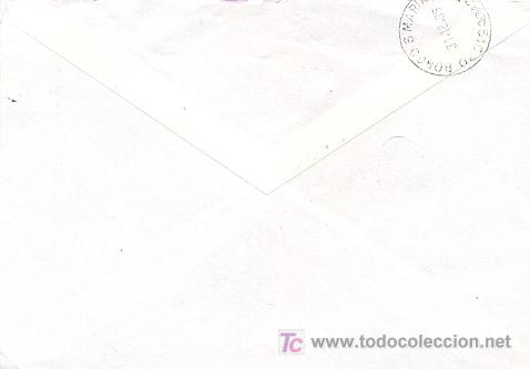 Sellos: Suecia - medicina. Carta circulada con viñeta de la lucha contra la tuberculosis de 1987 - Foto 2 - 3760740