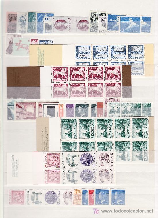 SUECIA SIN CHARNELA CLASIFICADOR CON 811,40 EUROS YVERT 2004 + (Sellos - Extranjero - Europa - Suecia)
