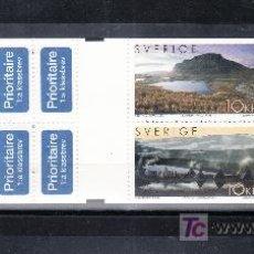 Briefmarken - suecia 2374c carnet, tema europa, las vacaciones, turismo, laponia patrimonio humanidad, u.n.e.s.c.o - 21354480
