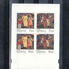 Sellos: SUECIA 1853C CARNET, TEMA EUROPA, PAZ Y LIBERTAD, . Lote 17185815