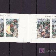 Sellos: SUECIA 1822C CARNET, TEMA EUROPA, LA EUROPA DE LOS DESCUBRIMIENTOS,. Lote 19326962