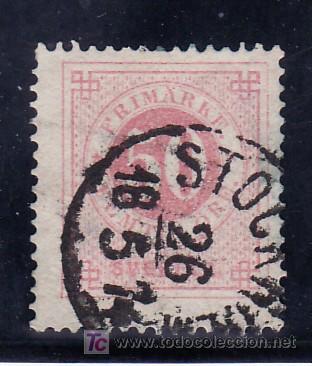 SUECIA 24B USADA, (Sellos - Extranjero - Europa - Suecia)