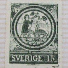 Sellos: 15 SVERIGE, SUECIA, SUÈDE, SWEDEN . . Lote 21063546
