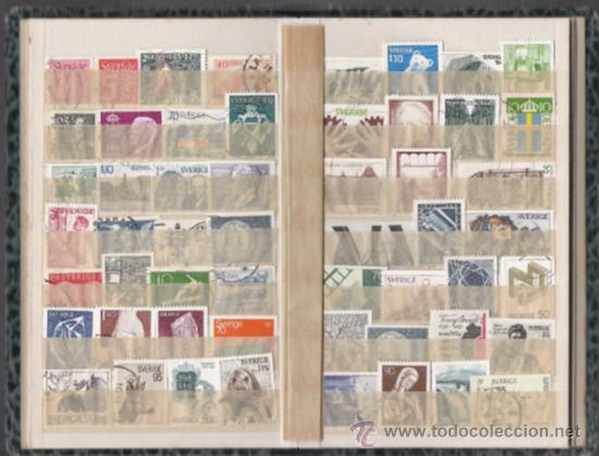 Sellos: SUECIA COLECCION MONTADA EN CLASIFICADOR ALTISIMO VALOR DE CATALOGO - Foto 6 - 27618534