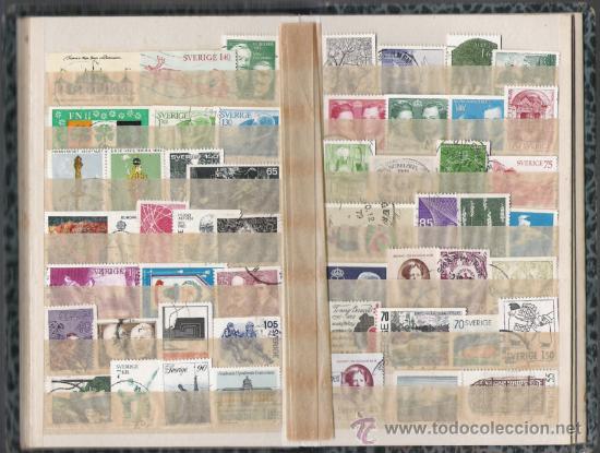 Sellos: SUECIA COLECCION MONTADA EN CLASIFICADOR ALTISIMO VALOR DE CATALOGO - Foto 8 - 27618534