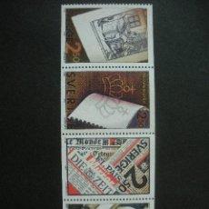 Sellos: SUECIA 1990 IVERT 1607/10 *** INDUSTRIA SUECA DEL PAPEL. Lote 26504191