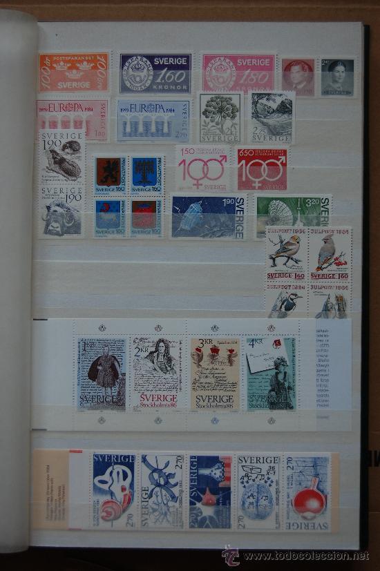 SUECIA, AÑO 1984. (Sellos - Extranjero - Europa - Suecia)