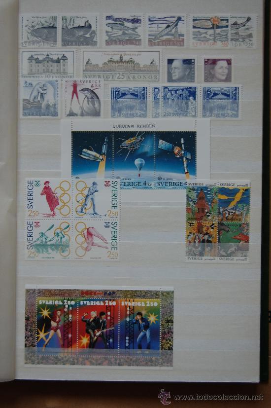 SUECIA, AÑO 1991. (Sellos - Extranjero - Europa - Suecia)