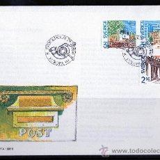 Sellos: SUECIA AÑO 1990 YV 1571/73 SPD EUROPA - EDIFICIOS Y OFICINAS DE CORREOS - ARQUITECTURA. Lote 28858399