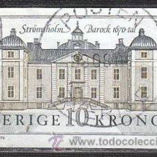 Sellos: SUECIA IVERT 1666, CASTILLO DE STROMSHOLM, USADO. Lote 29673196