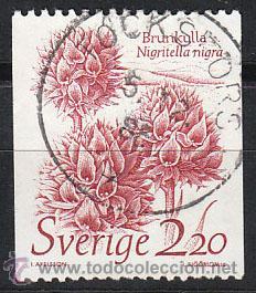 SUECIA IVERT 1306, NIGRITELLA, USADO (Sellos - Extranjero - Europa - Suecia)