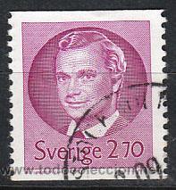 SUECIA IVERT 1226, EL REY CARLOS GUSTAVO XVI, USADO (Sellos - Extranjero - Europa - Suecia)