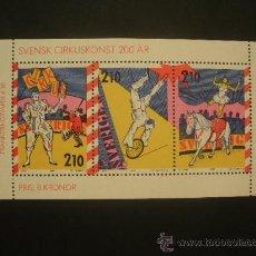 Briefmarken - Suecia 1987 HB Ivert 15 *** Bicentenario del Circo Sueco - 32147119