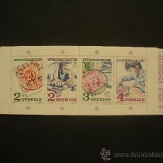 Sellos: SUECIA 1986 IVERT 1357/60 *** EXPOSICIÓN FILATÉLICA INTERNACIONAL - STOCKHOLMIA-86. Lote 32147513