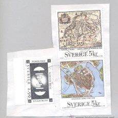 Briefmarken - Suecia, 3 sellos usados - 34580357