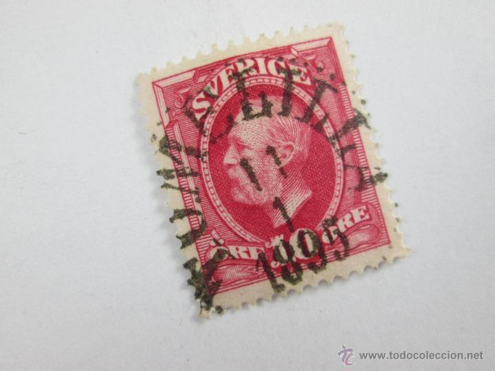 Sellos: Aº SELLO-SUECIA-10 ORE-1895-BUEN ESTADO-, - Foto 2 - 43862458
