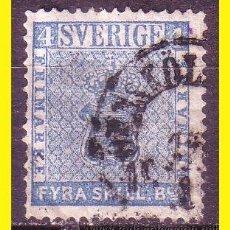 Sellos: SUECIA 1855 IVERT Nº 2 (O). Lote 44639527