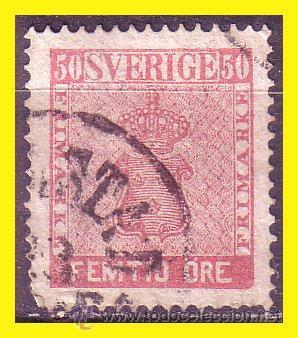 SUECIA 1858 IVERT Nº 11 (O) (Sellos - Extranjero - Europa - Suecia)
