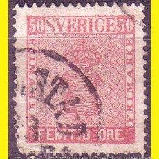 Sellos: SUECIA 1858 IVERT Nº 11 (O). Lote 44644850