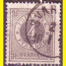 Sellos: SUECIA 1872 IVERT Nº 17 TIPO B (O). Lote 44656043