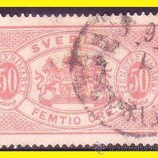 Sellos: SUECIA SERVICIO 1874 IVERT Nº 10 TIPO B (O) . Lote 44685989