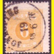 Sellos: SUECIA TASA 1874 IVERT Nº 4 TIPO B (O). Lote 44722702