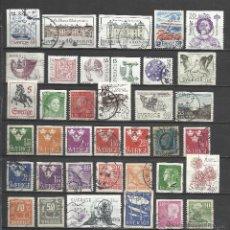 Sellos: 8513A-LOTE COLECCION SELLOS ANTIGUOS Y MODERNOS SUECIA,DIFERENTES,NO TASO. **. Lote 44739802