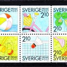 Briefmarken - SUECIA 1524/33** - AÑO 1989 - EL PLACER DEL VERANO - JUEGOS - 50989789