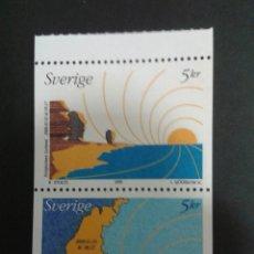 Sellos: SELLOS DE SUECIA. YVERT 2134/5. SERIE COMPLETA NUEVA SIN CHARNELA.. Lote 53145474