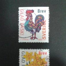 Sellos: SELLOS DE SUECIA. YVERT 1974/5. SERIE COMPLETA USADA.. Lote 53173957