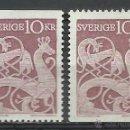 Sellos: SUECIA - 1961 - MICHEL 481 // SCOTT 592** MNH. Lote 53703920