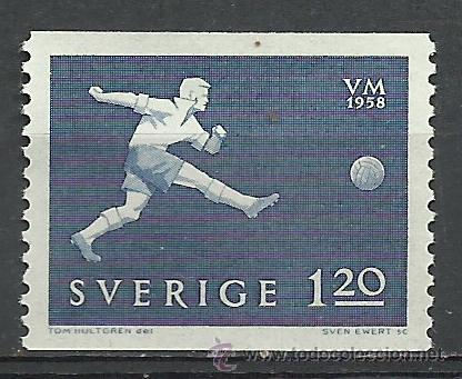 SUECIA - 1958 - MICHEL 440** MNH (Sellos - Extranjero - Europa - Suecia)
