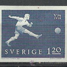Briefmarken - Suecia - 1958 - Michel 440** MNH - 54137719