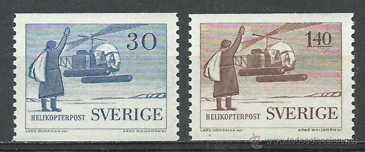 SUECIA - 1958 - MICHEL 434/435** MNH (Sellos - Extranjero - Europa - Suecia)