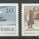 Sellos: SUECIA - 1958 - MICHEL 434/435** MNH. Lote 54137724