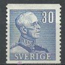 Sellos: SUECIA - 1939/1942 - MICHEL 260** MNH. Lote 54137818