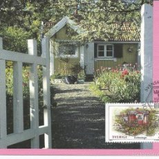 Sellos: SWEDEN 1994 - MAXIMUM CARD PFA NR. 83. Lote 55369450