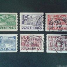 Sellos: SELLOS DE SUECIA. YVERT 229/34. SERIE COMPLETA USADA.. Lote 55376409