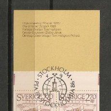 Briefmarken - SUECIA. 1985 . CUADERNILLO. C1311 - 58100343