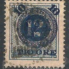 Sellos: SUECIA 1889 SELLO DE 1872-85 CON SOBRECARGA AZUL. Lote 58680843